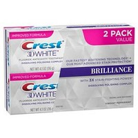 Crest 3D White Brilliance Whitening Toothpaste - 8.2 oz