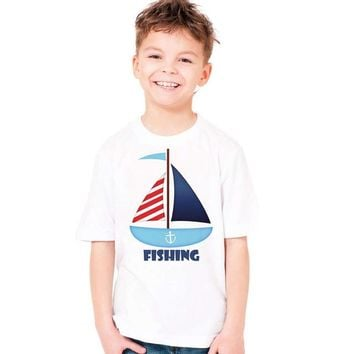 Surfing Surfer Slacker T-shirt fishing surfing boat ship funny print cute t shirt for baby infant summer clothes summer style toddler infant t-shirt clothing KO_12_1
