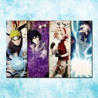 Naruto Sasauke ninja  Shippuden Hot Anime Game Poster Art Silk Canvas Print 13x20 inch Wall Picture for Home Decor (more)-16 AT_81_8
