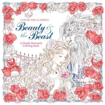 Beauty and the Beast Adult Coloring Book - Walmart.com
