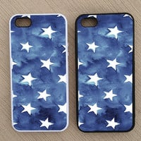 Cute Nautical Summer Patriotic iPhone Case, iPhone 5 Case, iPhone 4S Case, iPhone 4 Case - SKU: 176