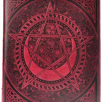 Huge Pentacle Book of Shadows (560 pages)