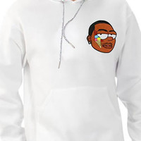 The Gucci Bart Hoody in White