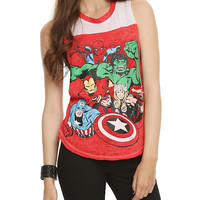 Marvel Group Girls Muscle Top