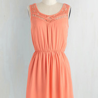 Pastel Short Length Sleeveless A-line Cupcake Competition Dress in Apricot