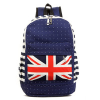 Stylish Hot Deal On Sale Comfort College Back To School Simple Design Canvas Casual Backpack [8070740167]