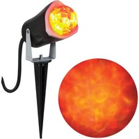 Fire and Ice Outdoor Lightshow Halloween Decoration - Walmart.com