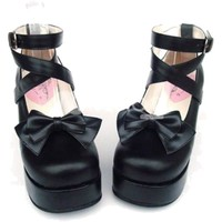 platforms cross straps