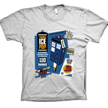 Doctor Who Tardis Ice Pop Funny T-Shirt