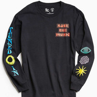 UO + VH1 Save The Music Foundation Long Sleeve Tee | Urban Outfitters