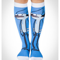 The Regular Show 'Mordecai' Knee High Socks