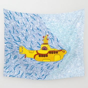 Yellow Submarine Collection By Cris Couto | Society6