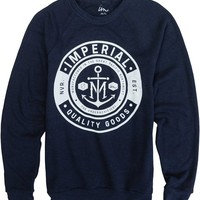 IMPERIAL MOTION NAME PLATE CREW FLEECE | Swell.com