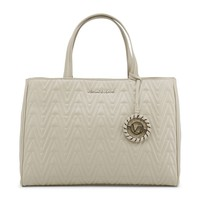 Versace Brown Synthetic Leather Handbag