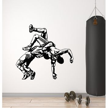 Vinyl Wall Decal Fight Club Martial Arts Fighting Men's Sports Stickers Mural (g2799)