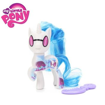 My Little Pony Toys the Movie DJ Pon-3 Big Mcintosh Rainbow Dash Pinkie Pie Rarity PVC Action Figure Collectible Model Doll