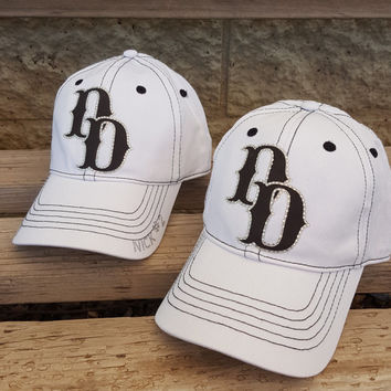 Custom baseball, soccer and football mom team logo hats in your teams colors includes name and number rhinestone personalization