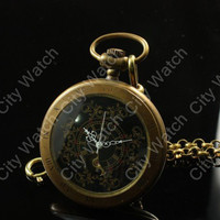 Steampunk Watch-Deluxe Pocket Watch,Pendant Roman Number pocket watch -Best men- Victorian Steampunk Era -mechanical watch