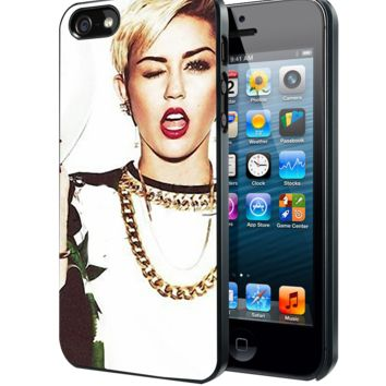 Miley cyrus pose D Samsung Galaxy S3 S4 S5 Note 3 , iPhone 4(S) 5(S) 5c 6 Plus , iPod 4 5 case