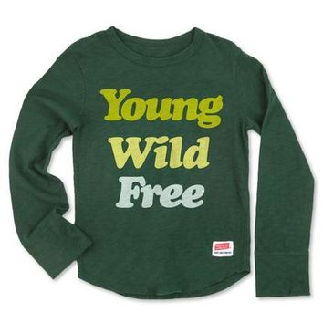 Young Wild Free Long Sleeve Tee