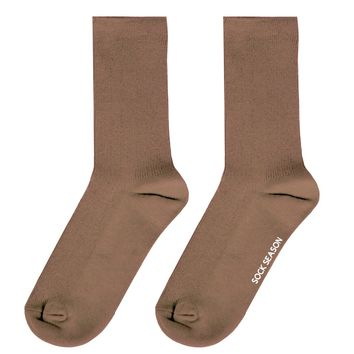Essential Star Quality Sock | Brown