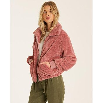 Billabong - Always Cozy Jacket | Soft Plum