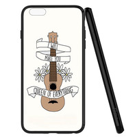 Twenty One Pilots Ukulele Song Lyrics iPhone 6 | 6S Case Planetscase.com