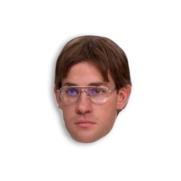 Jim Halpert as Dwight Schrute Magnet - Michael Scott Dwight Schrute - The Office TV Show Magnet - Jim and Pam Best friend magnets