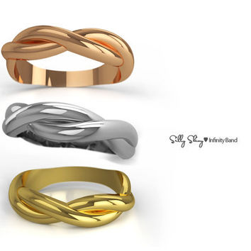 Infinity Ring 14K Gold