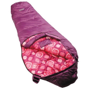 Coleman Youth Mummy Sleeping Bag Pink