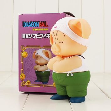 16cm Dragon Ball Z Oolong Pig figure model toy Hot Anime Dragon Ball kawaii Pig PVC Figure Model Toy for children gift