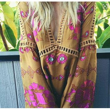 70's Siren Tunic Dress