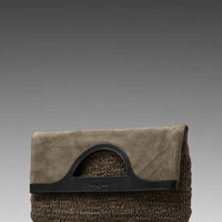 Foley + Corinna Knit Foldover in Moss Knit Suede/Black Saddle from REVOLVEclothing.com