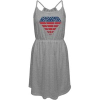 American Diamond: Custom Junior Fit District Strappy Dress - Customized Girl