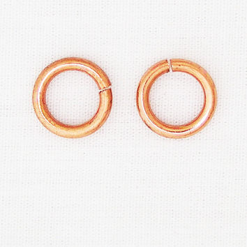 Solid Copper 12mm Jump Ring 2-Pack JSJ12 Jewelry Supplies for Jewelry Making and Jewelry Repair