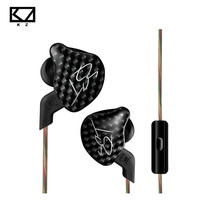 KZ ZST L Bending In Ear Earphone Hybrid Drive HIFI Running Sport Earphones Earplug Earphone With Mic Without Mic