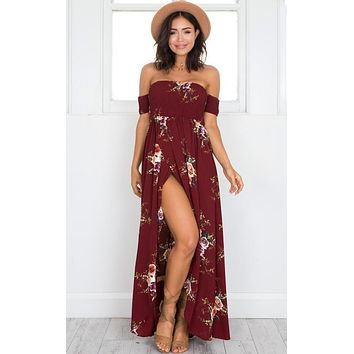 Summer Print Long dress
