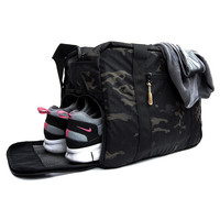 Black Camo Hybrid Work Bag by DSPTCH