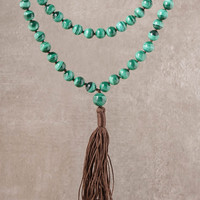 High-Energy Malachite Mala