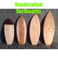 Handcrafted Surfboards $20.00 each
