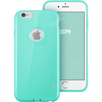 ESR Ultra Thin Light Soft TPU Color Case with Apple Logo Cut-Out for iPhone 6