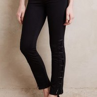 Paige Wyatt Ankle Jeans in Black Shadow Size: