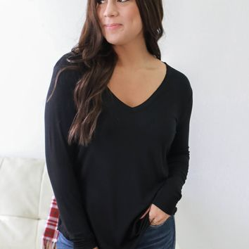 Feel Good Top - Black