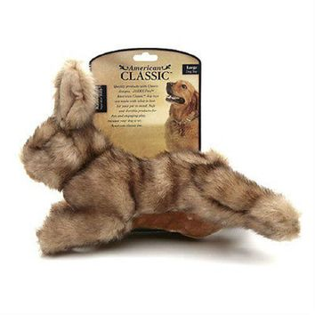 American Classic Large Rabbit Squeaker Dog Toys