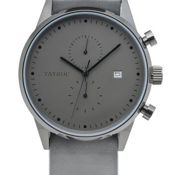 TXM085 - Grey Leather NATO