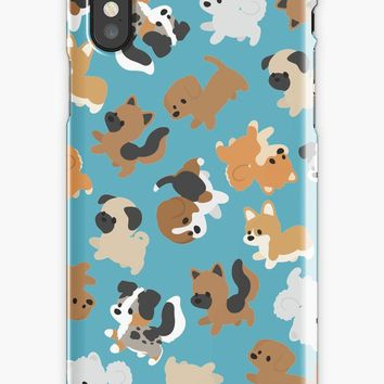'Chibi Puppers' iPhone Case/Skin by ncdoggGraphics