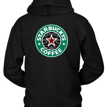 Bucky Barnes The Winter Soldier Starbuck Hoodie Two Sided