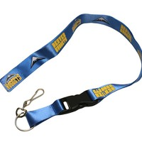 Denver Nuggets Lanyard - Breakaway with Key Ring