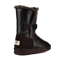 UGG Women Fashion Leather Winter Half Boots Shoes