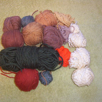 Destash Assorted Yarn Lot